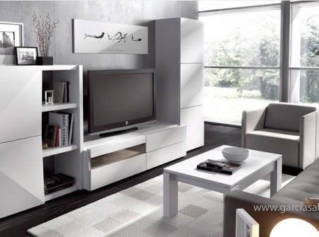 Mueble comedor muy practico para espacios pequeños pero con gran capacidad de almacenamiento.
