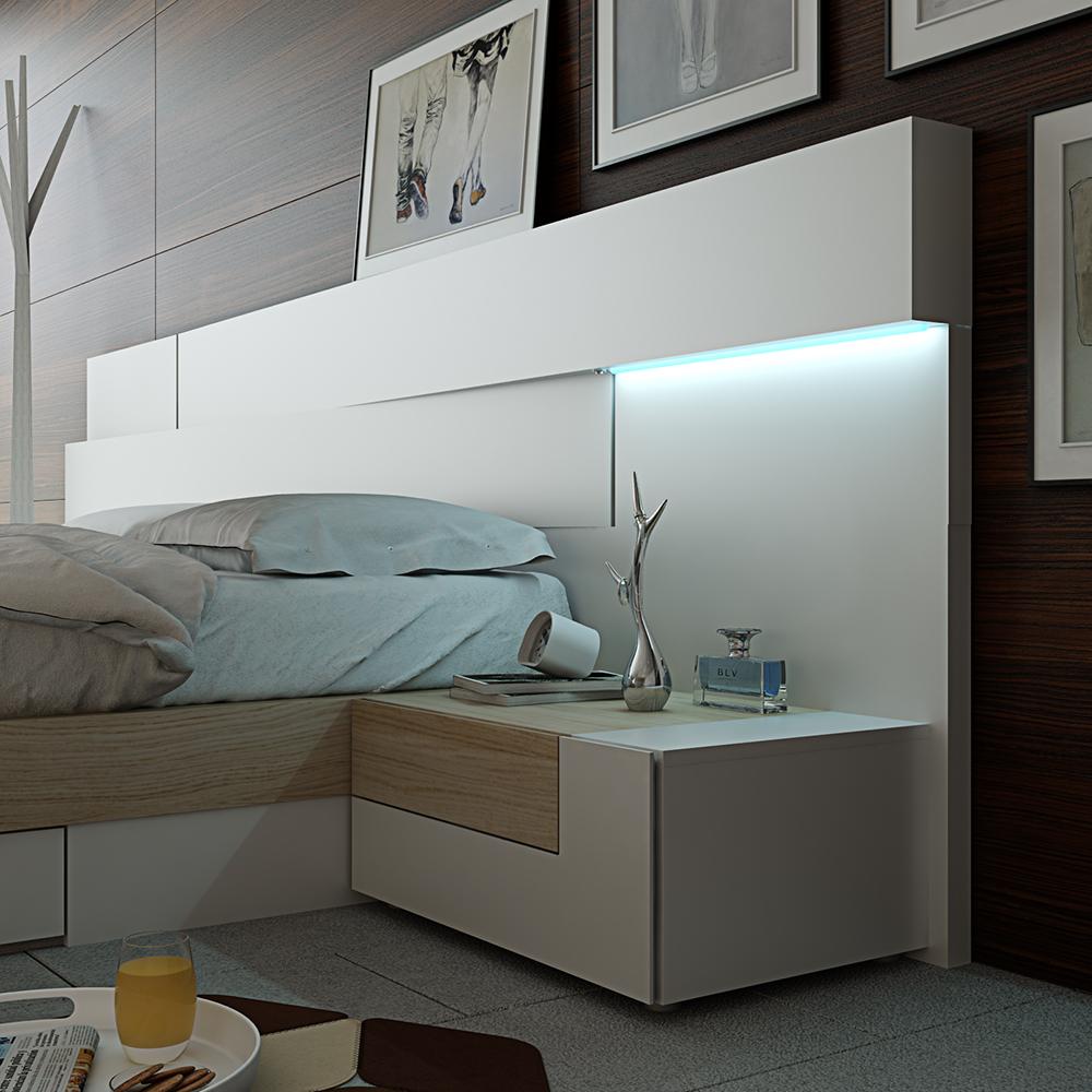 dormitorio moderno colección angular