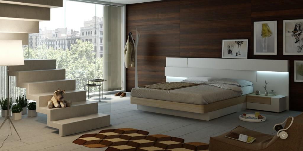 dormitorios modernos colección angular
