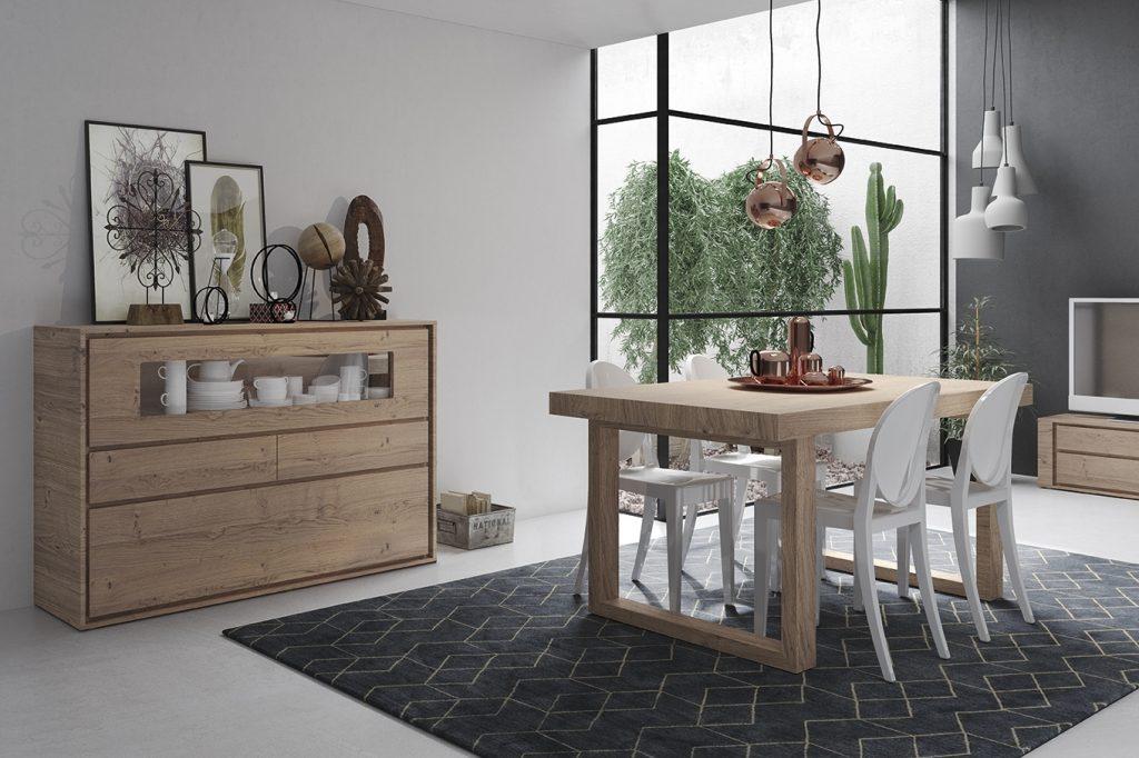 Mueble de comedor moderno excellent foto de muebles for Casa garcia muebles