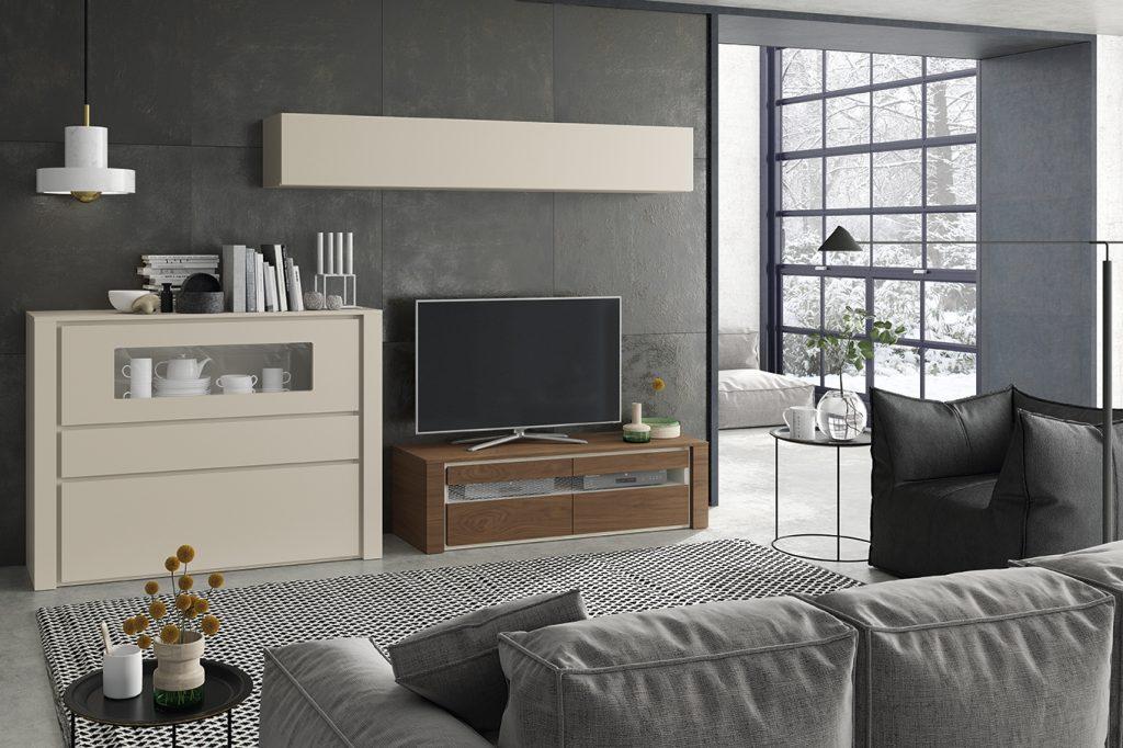 Descubre los salones modernos de la colecci n laurel for El mueble salones modernos