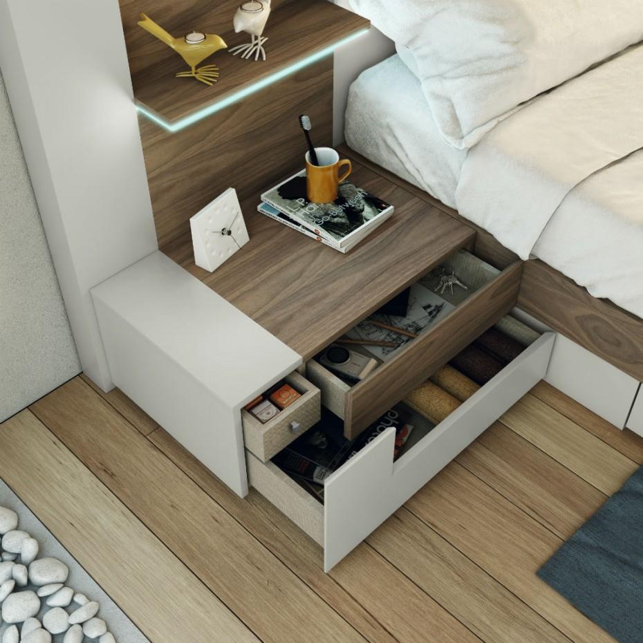 Dormitorio life garc a sabat mueble moderno for Muebles garcia sabate