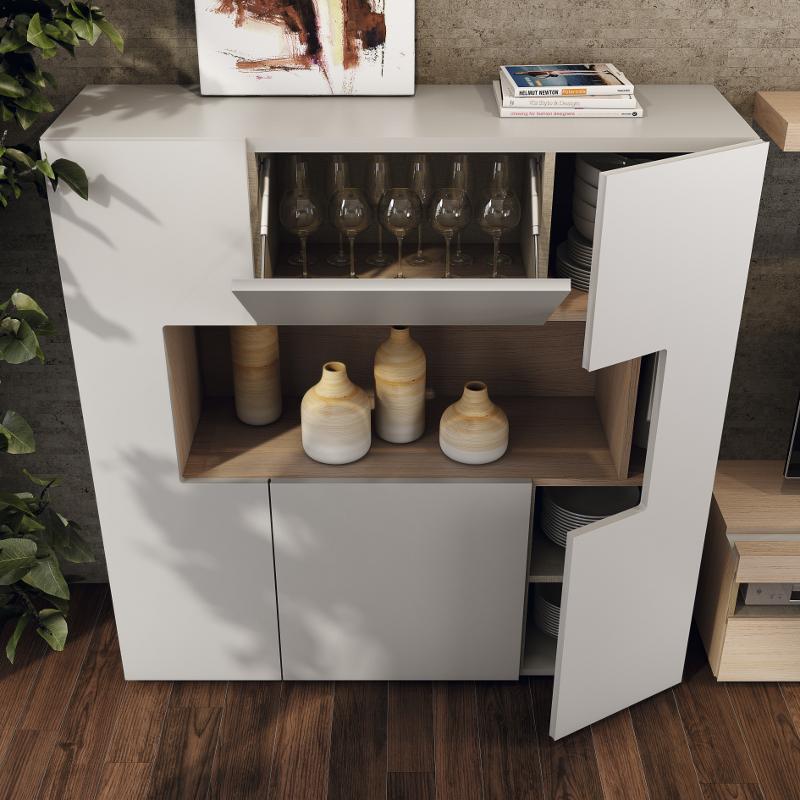 Colecci n natural garc a sabat mueble moderno - Buffet para comedor ...