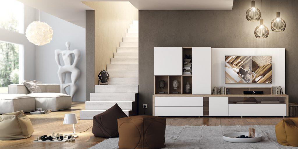 Colecci n natural garc a sabat mueble moderno - Composiciones de salon ...