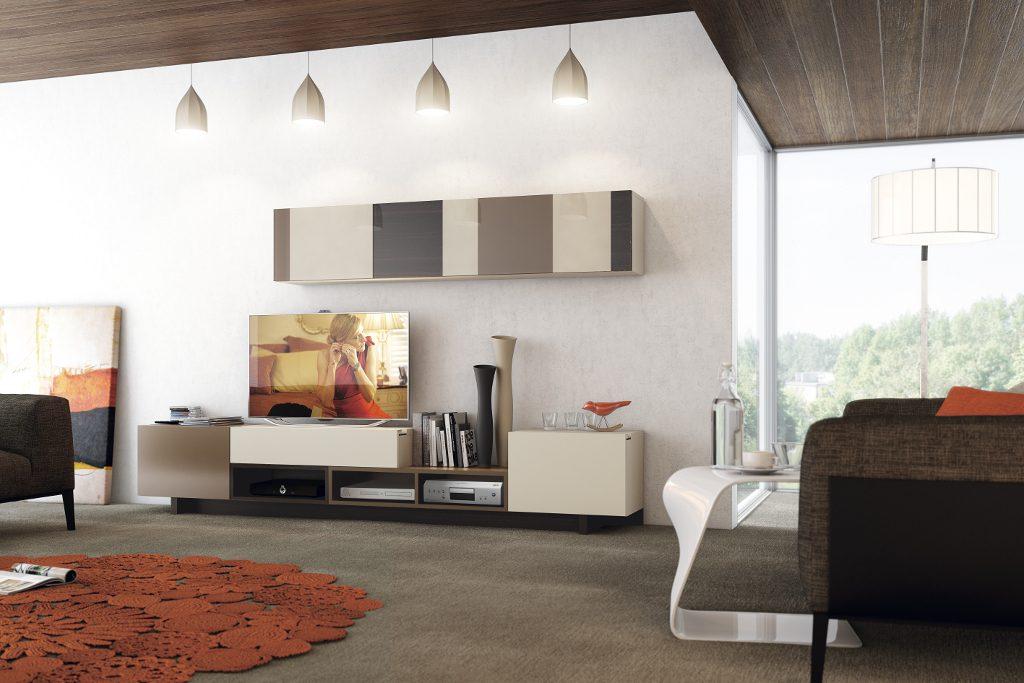 Colecci n natural garc a sabat mueble moderno for Modulos salon modernos