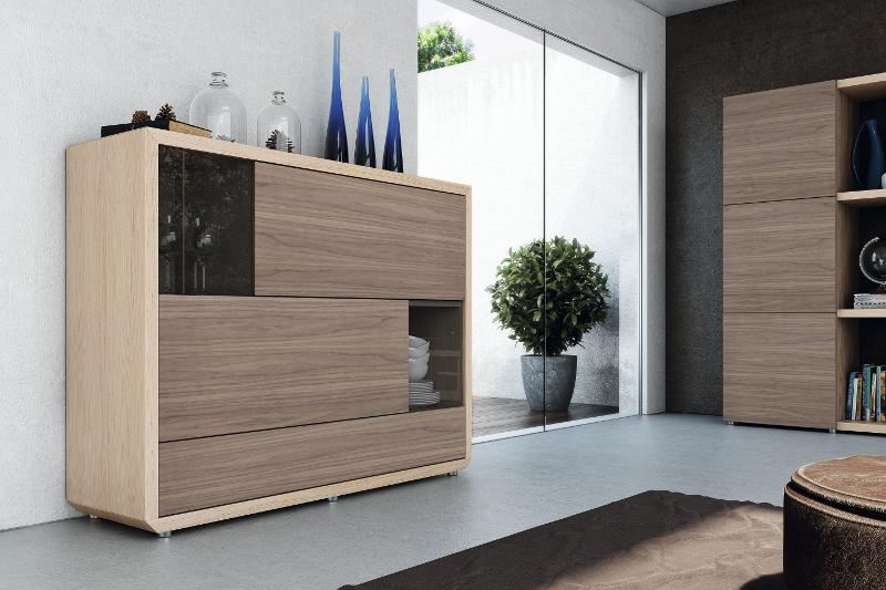 Colecci n natural garc a sabat mueble moderno for Modulos para salon
