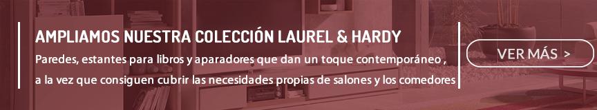 Colección modular comedor y salón Laurel & Hardy