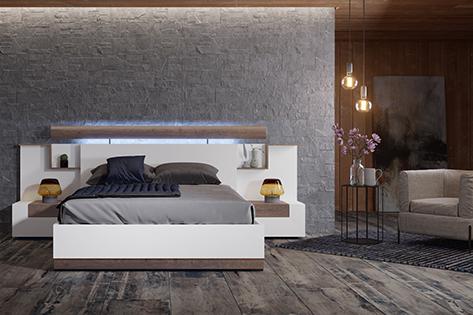 Nueva colecci n dormitorio you me muebles de calidad y dise o - Cabeceros con compartimentos ...