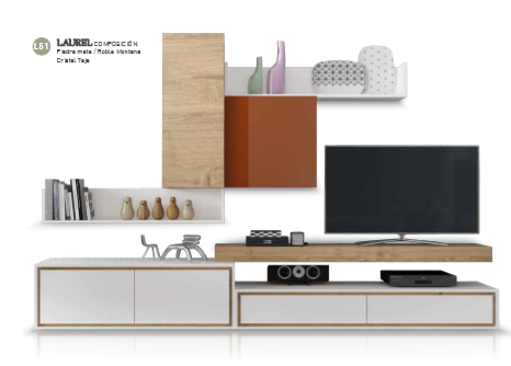 Muebles con detalles en color tierra