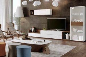 Muebles Lacados Blanco Para Salon.Muebles De Salon Lacados Tendencia Para Llenar De Color Tu