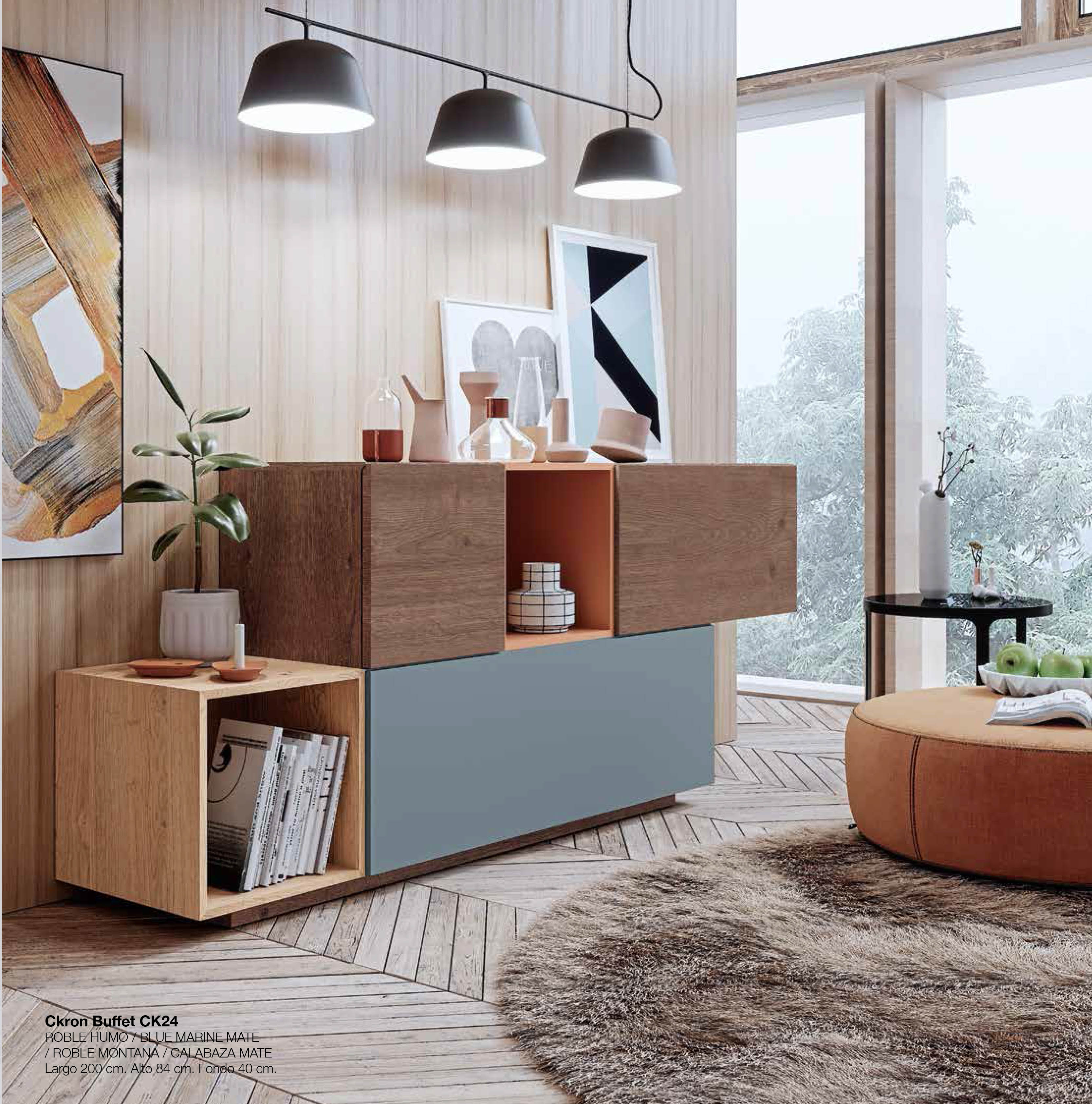 Mueble estante para comedor   Colección CKRON