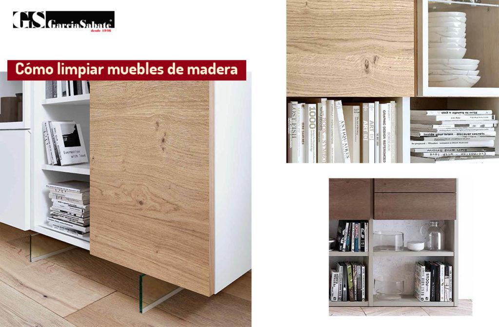 limpiar muebles madera