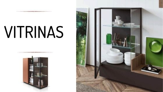 decorar con vitrinas